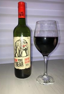 wine poke bear